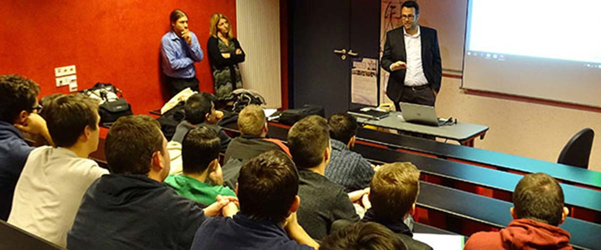 HPE COXA INCONTRA GLI STUDENTI DELL'UNIVERSITA' SIGMA CLERMONT